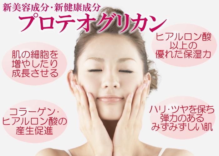新美容成分・新健康成分 プロテオグリカン